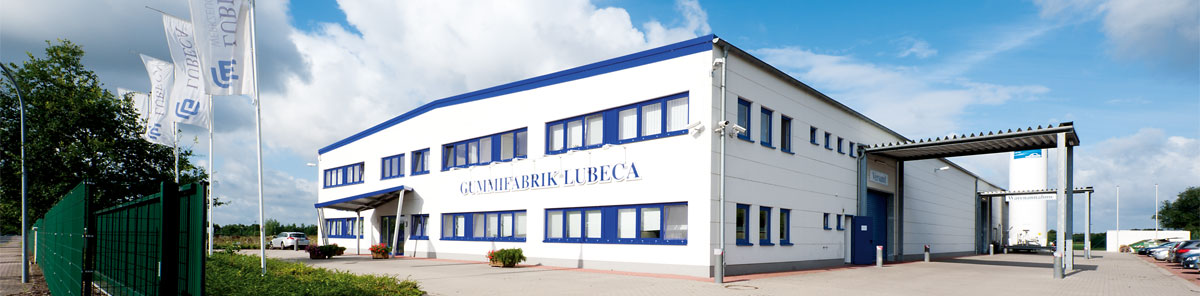 Rubber factory Lubeca Gummifabrik in Lübeck and Upahl, Germany